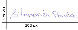 Sample Signature